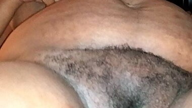 bbw huge hairy pussy and tits of wifey