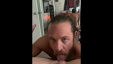 Hot sex Creampie from her point of view